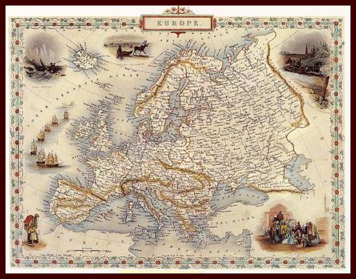 geography of europe and russia